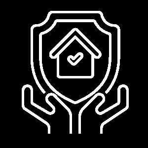 icono seguro para hogar serenus